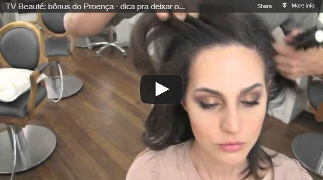 TV Beauté: maquiando com Proença