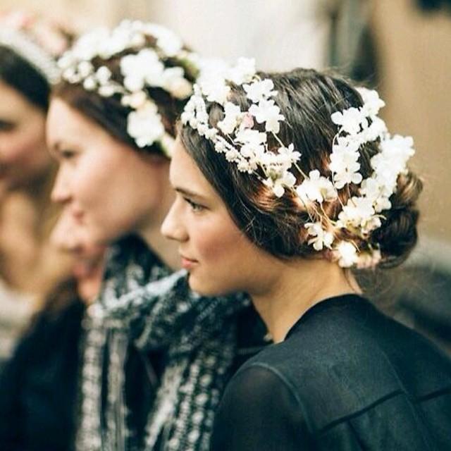 coroa de florzinhas