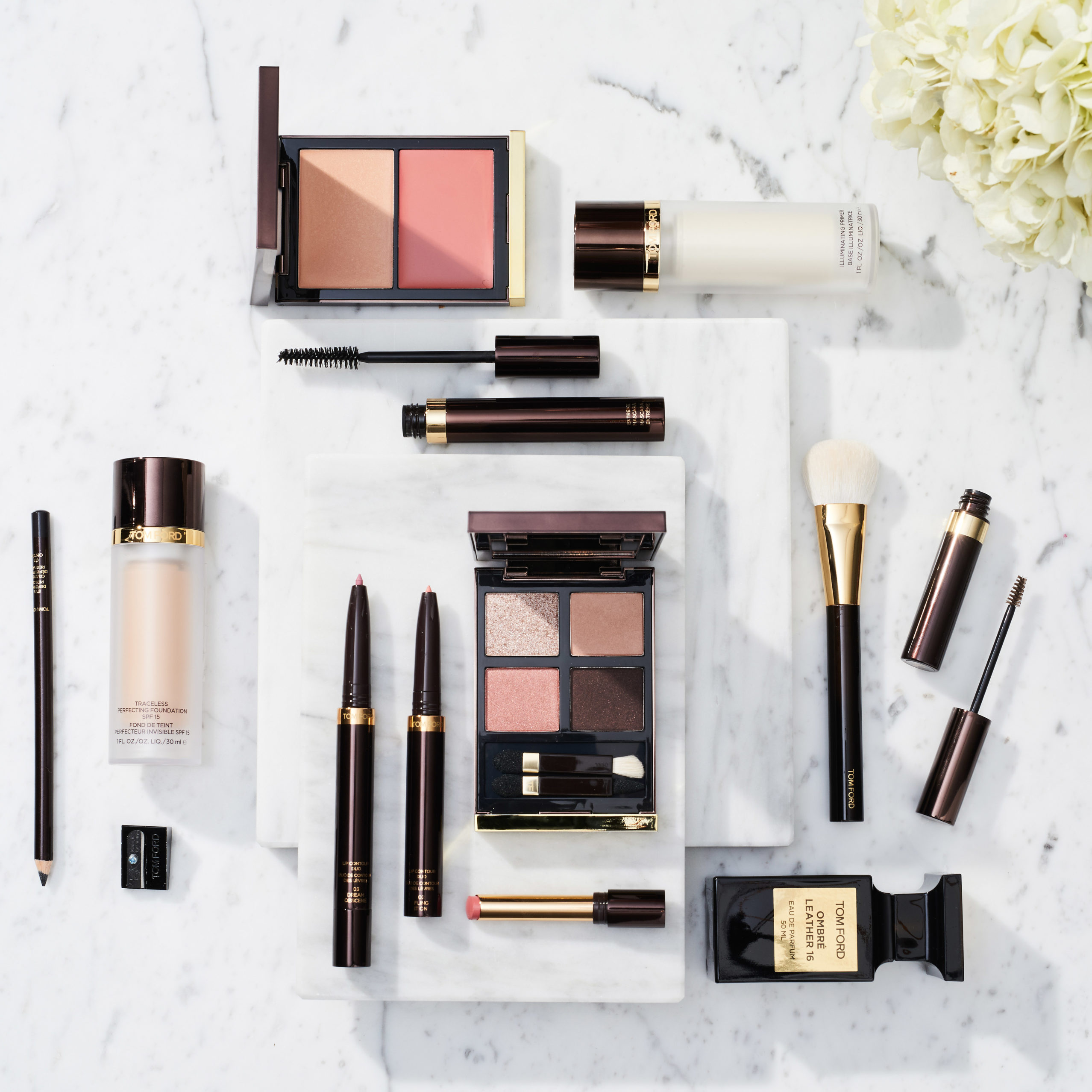 A Spring Makeup Tutorial In Collaboration With Tom Ford Dia De Beaut