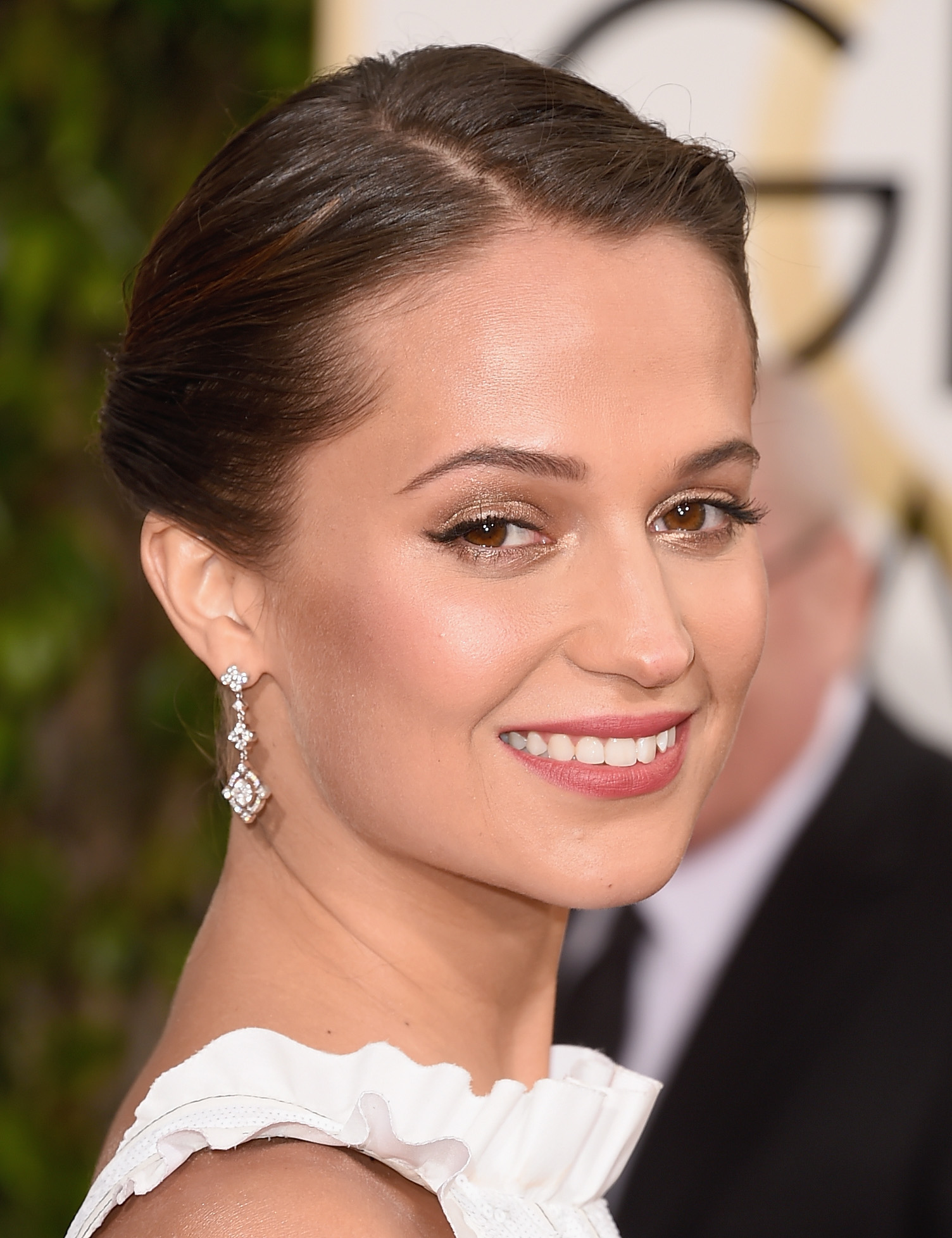 Make iluminado Alicia Vikander