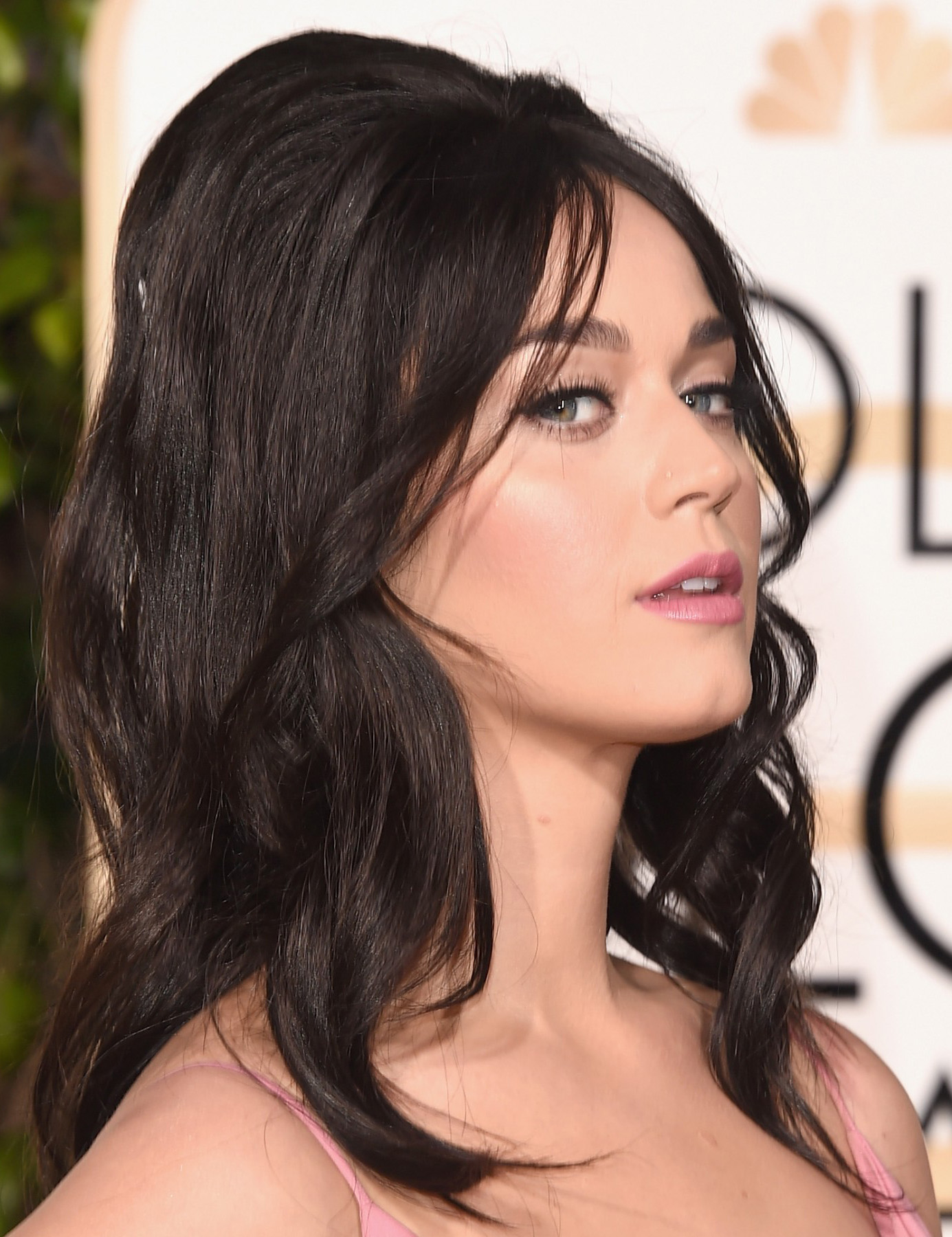Cabelo Katy Perry Golden Globes 2016