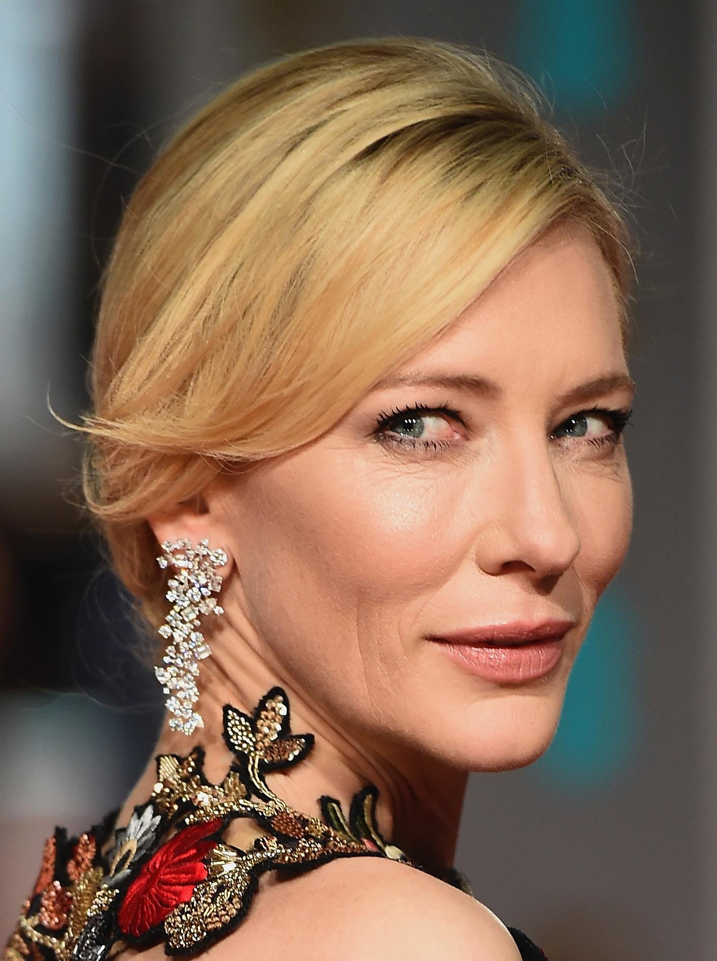 Make Cate Blanchett Bafta 2016
