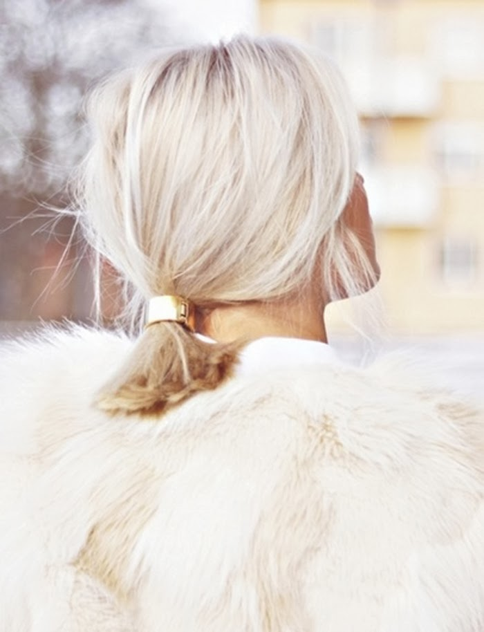 A cor, o corte ou o enfeite: não sei o que amo mais nesse cabelo!