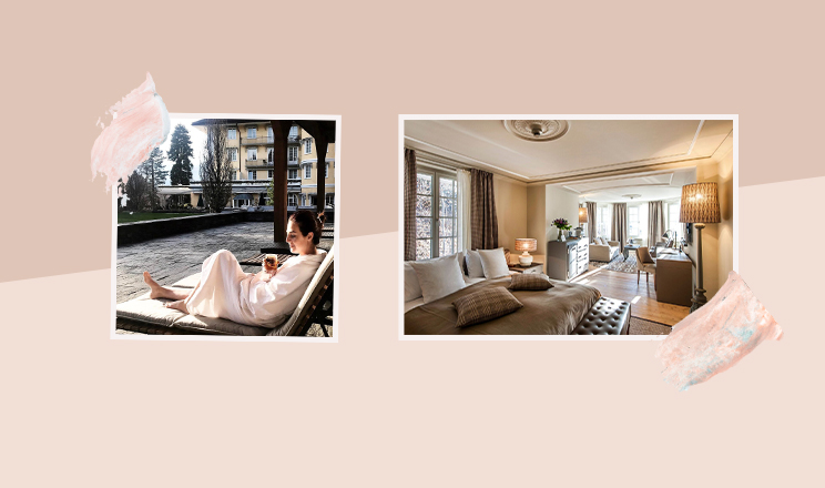HOTEL LE GRAND BELLEVUE IN GSTAAD