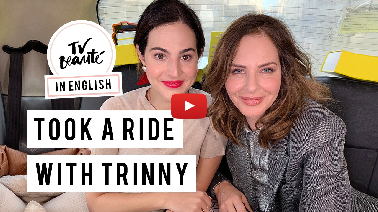 TV Beauté: The Makeup Cab Ride With Trinny Woodall