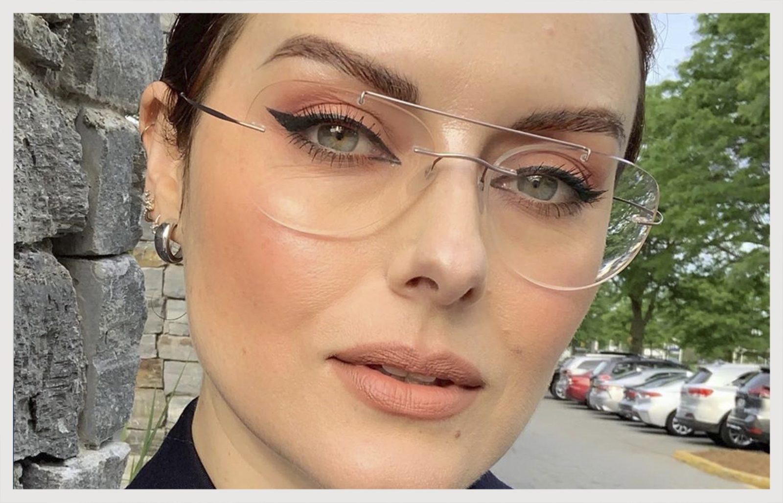 Resultado de imagem para maquiagem e oculos de grau