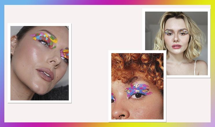 Maquiagem que mais parece arte